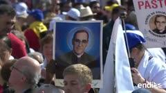 El Papa proclama santo al obispo salvadoreño Óscar Romero