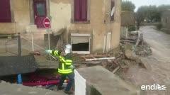 Una decena de muertos por inundaciones en el sur de Francia