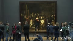 "La pintura ""The Night Watch"" de Rembrandt será restaurada ante el público"