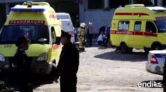 Una veintena de muertos en un ataque contra una universidad en Rusia