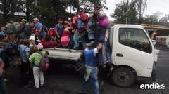 México recibe apoyo de la ONU para pedidos de refugio de caravana