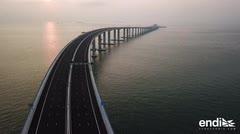 Este es el mayor puente marítimo del mundo