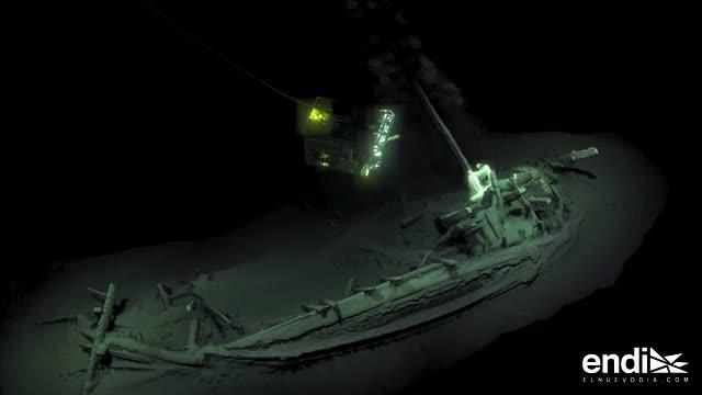 Descubren el barco intacto más antiguo del mundo