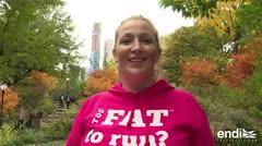 ¿Demasiado gorda para correr? Esto es lo que piensa una corredora de la maratón de NY