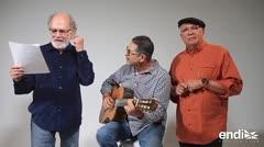 Emotivo homenaje: Los Rayos Gamma le cantan a Héctor Ferrer