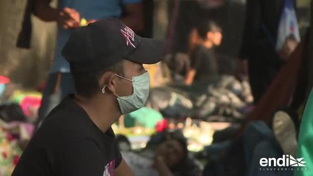 Enfermedades e insalubridad golpean a los migrantes de camino a Estados Unidos