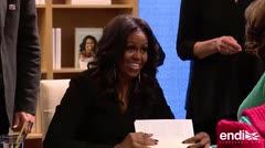 Michelle Obama promociona el libro de su vida