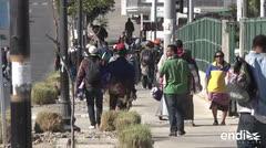 La caravana migrante acelera el paso en México hacia Estados Unidos