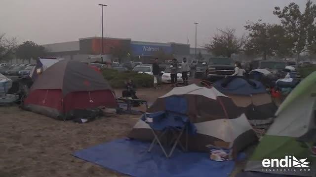 La vida tras el desastre para los evacuados por incendio en Estados Unidos