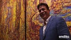 El gran y colorido lienzo de Arnaldo Roche-Rabell