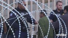 Temen un cierre definitivo en Tijuana tras la llegada multitudinaria de los migrantes