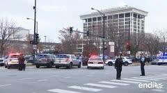 Otro tiroteo en Estados Unidos: varios heridos cerca de hospital en Chicago