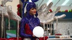 Kiara Liz Ortega explica el significado de su llamativo traje típico