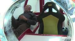 Este anciano cruzará el océano Atlántico en un barril de madera