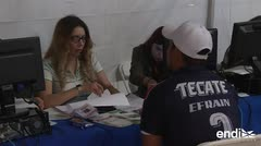 """Se busca obrero"": Tijuana ofrece empleo a caravana migrante"