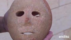 Insólito encuentro: arqueólogos israelíes descubren máscara de hace 9,000 años