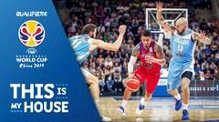Resumen del partido entre Puerto Rico y Uruguay en la quinta ventana FIBA