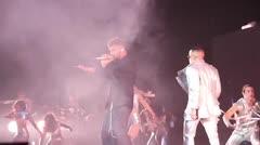 La presentación de Ricky Martin junto a Wisin y Yandel