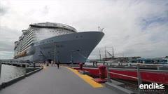 Descubre las impresionantes atracciones del crucero más grande del mundo