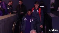 Los protagonistas de la final de la Copa Libertadores ya están en Madrid