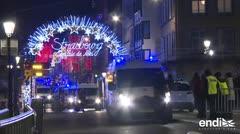 Tiroteo en Estrasburgo deja cuatro muertos y 11 heridos