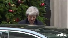 La primera ministra británica Theresa May afronta moción de censura