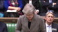"""Theresa May advierte del """"daño"""" que causaría otro referéndum sobre Brexit"""