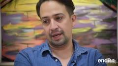 Lin Manuel Miranda dice que su voz siempre será para apoyar a Puerto Rico