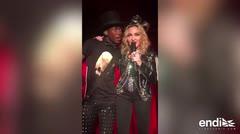 Madonna realiza sorpresivo concierto del nuevo año en Nueva York