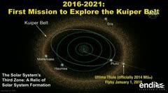 La NASA celebra el Año Nuevo con un histórico sobrevuelo