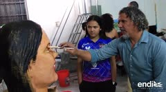 "Adriana Díaz: ""No me imaginé nunca"" ser un cabezudo"