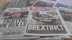 Caos del Brexit tras rechazo en el Parlamento