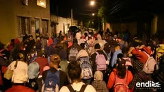 Cientos de hondureños retoman su camino hacia Estados Unidos