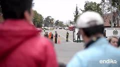 El gobierno de Colombia atribuye al ELN el ataque con coche bomba