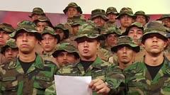 Exmilitares venezolanos instan en Lima a rebelarse contra Maduro