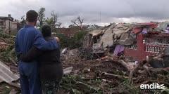 Estos son los efectos del potente tornado que el domingo golpeó La Habana