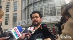 """El Chapo y su intérprete en """"Narcos"""" se cruzan en juicio en NY"""
