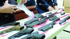 Sobre el 60 por ciento de las armas de fuego ilegales llegan a la isla desde Florida