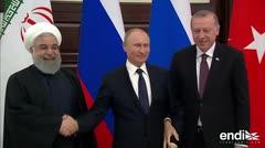 Rusia, Irán y Turquía presionan a Donald Trump
