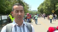 Venezolanos emocionados por concierto para ayuda humanitaria