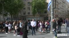 Israel se paralizó en el Día del Holocausto