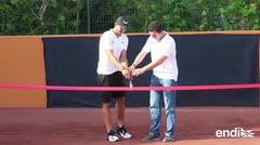 Rafael Nadal inaugura una academia de tenis en México