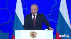 Vladimir Putin lanza una peligrosa amenaza
