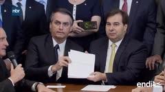 Bolsonaro lanzó una reforma de jubilaciones para equilibrar las cuentas