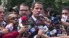 Guaidó afina su plan para la entrada de ayuda humanitaria en Venezuela
