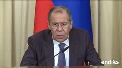 """Rusia advierte contra """"uso de fuerza"""" en Venezuela"""