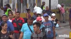 Duelo de conciertos en la frontera venezolana: otro choque por la ayuda humanitaria