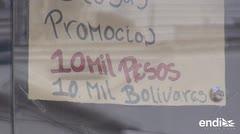 La moneda venezolana está desaparecida en la frontera con Colombia