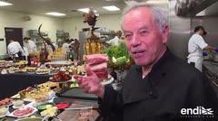 Conoce al chef que complace a las estrellas en los premios Oscar