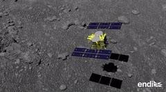 Una sonda japonesa logró posarse sobre un asteroide